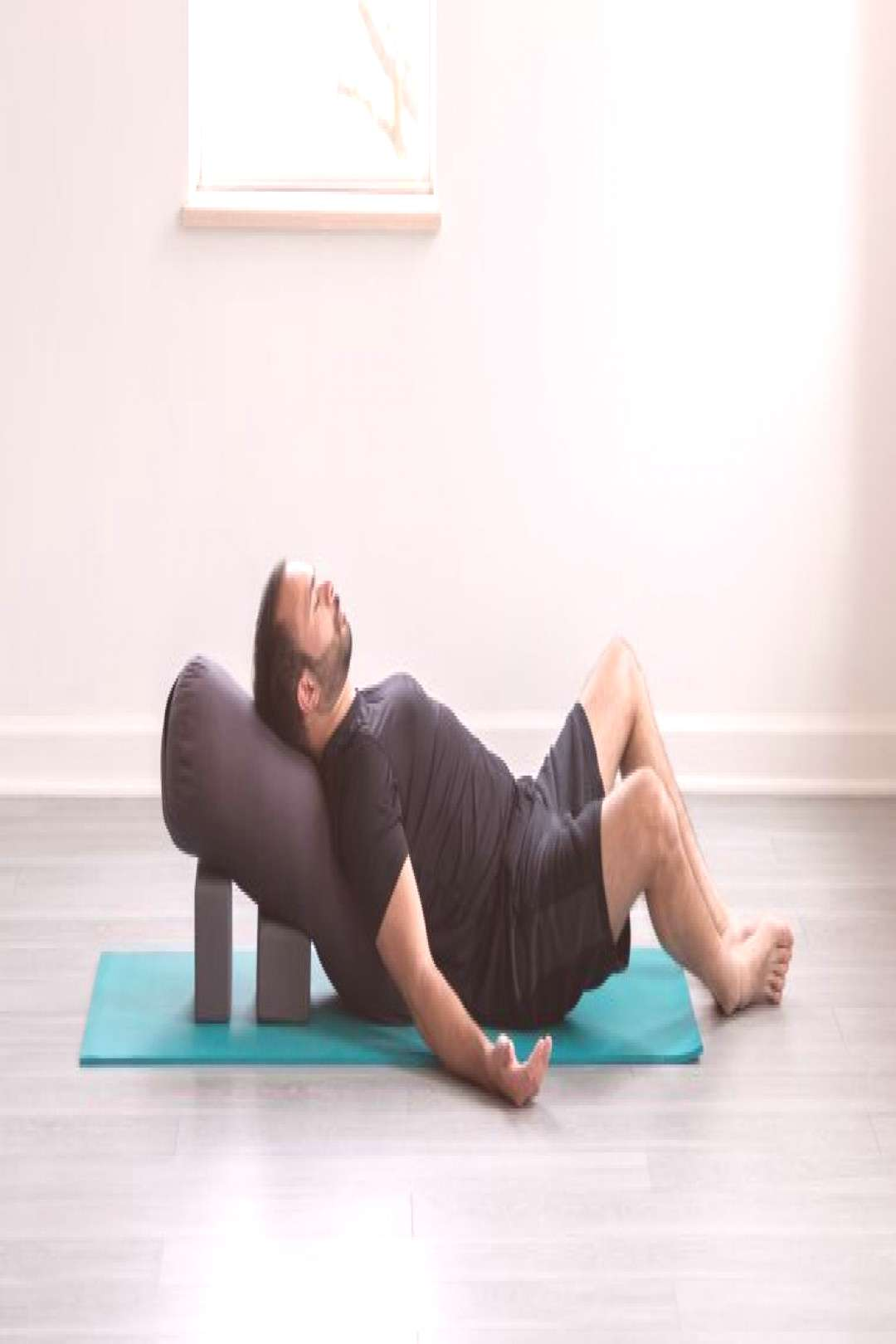 A Restorative Yoga Sequence for Tight Spaces