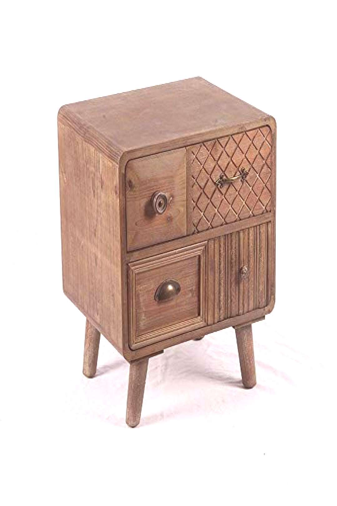 Amazing offer on ZJ?Dong Bedside Table Bedside Table, Retro Personality Creative Homestay Decorativ