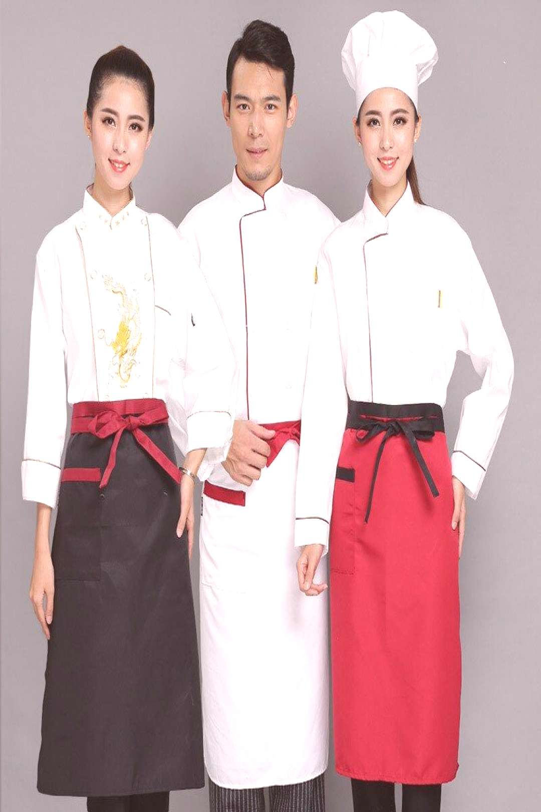 Catering Equipment Chef Aprons Kitchen Accessory Bibs for Women Men Food Service Restaurants Brand