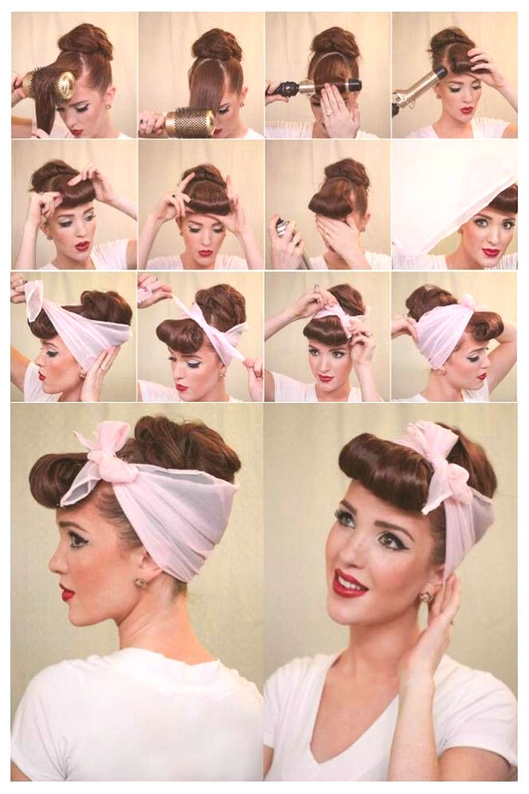 comment faire coiffure pin up