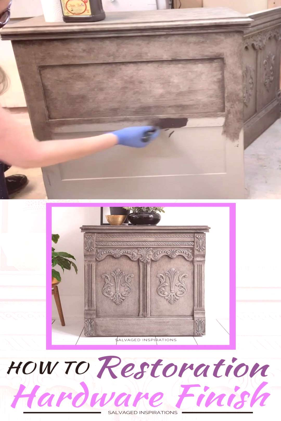 DIY Restoration Hardware Paint Finish