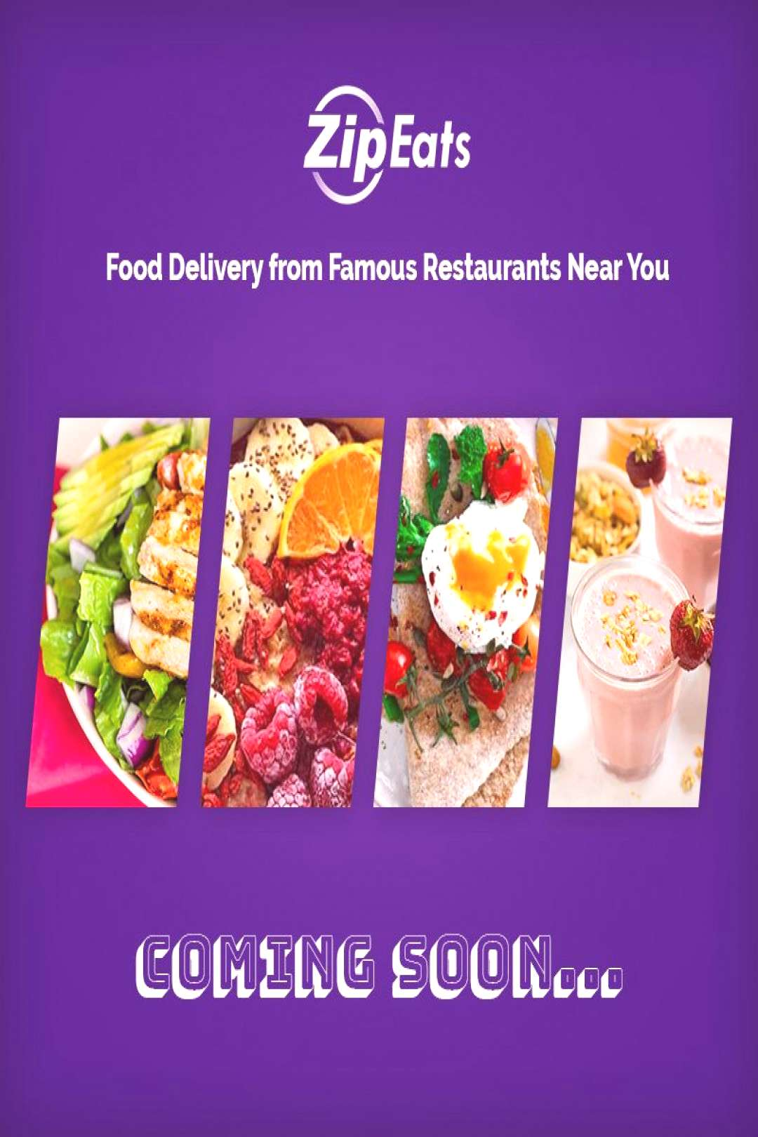 Food Delivery-Zip Eats Now sit home and order delicious food from famous Restaurants near you.?