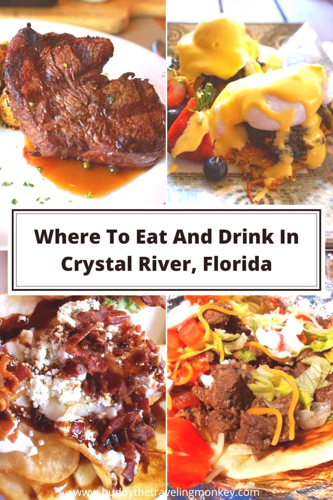 Foodie Travel 461337555580507478 -  We list where to eat and drink in Crystal River, Florida. Every