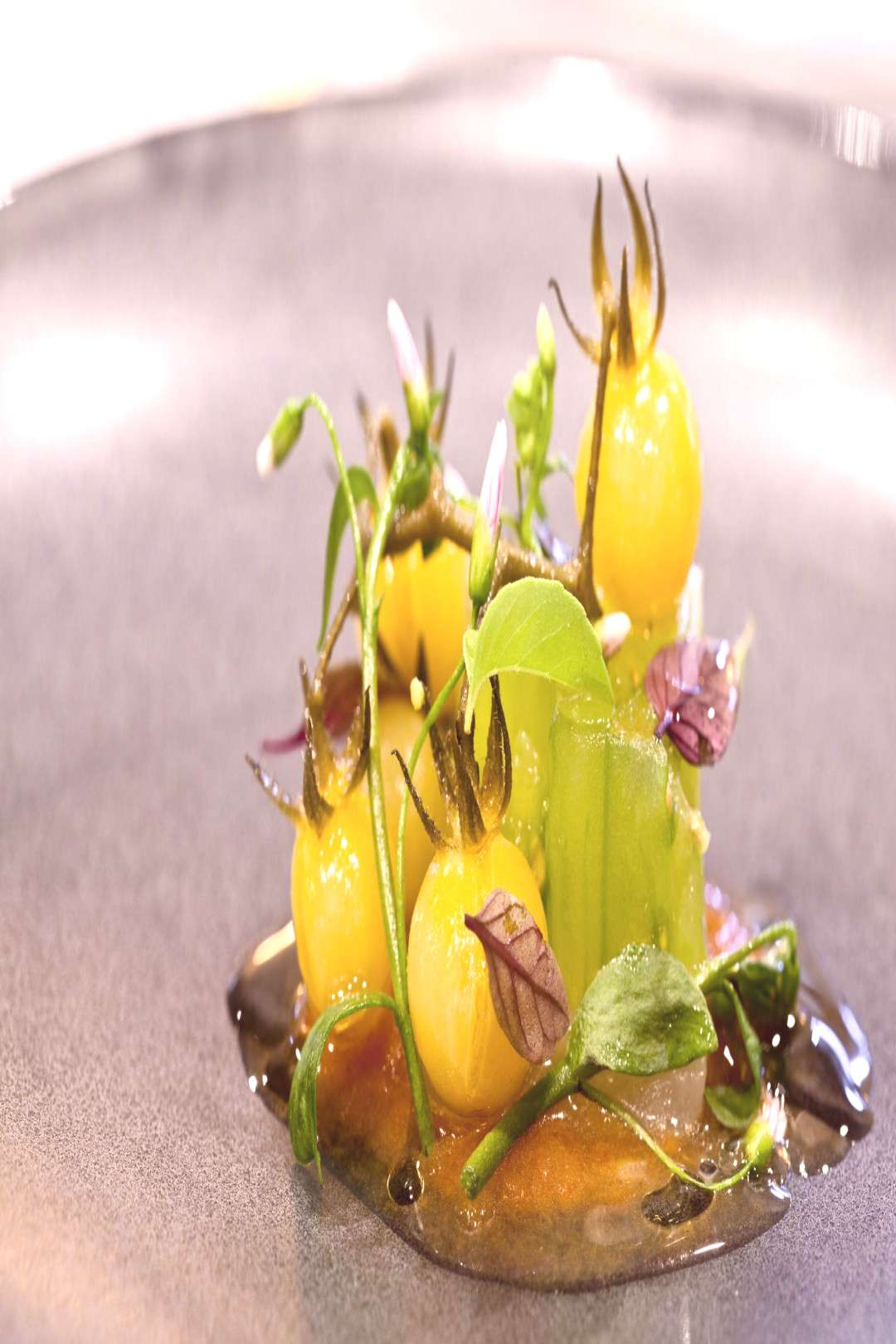 Greenhouse Heirloom Tomatoes with Pink Grouper - -