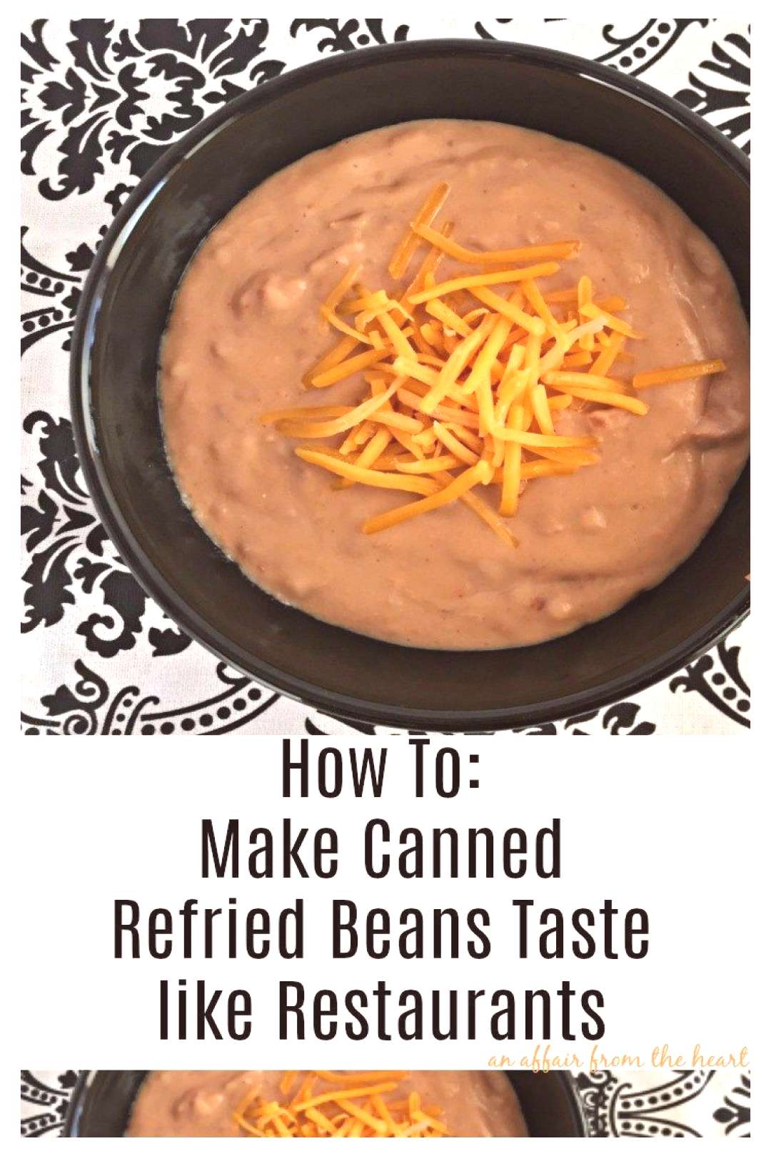 How To: Make Canned Refried Beans Taste like a Restaurant's -  How To Make Canned Refried Beans Tas