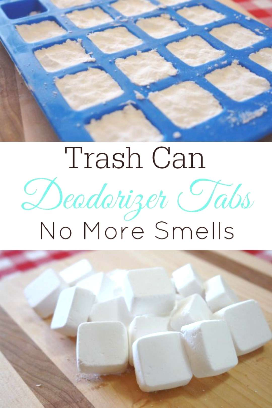 How to Make Trash Can Deodorizer Tabs - Retro Housewife Goes Green