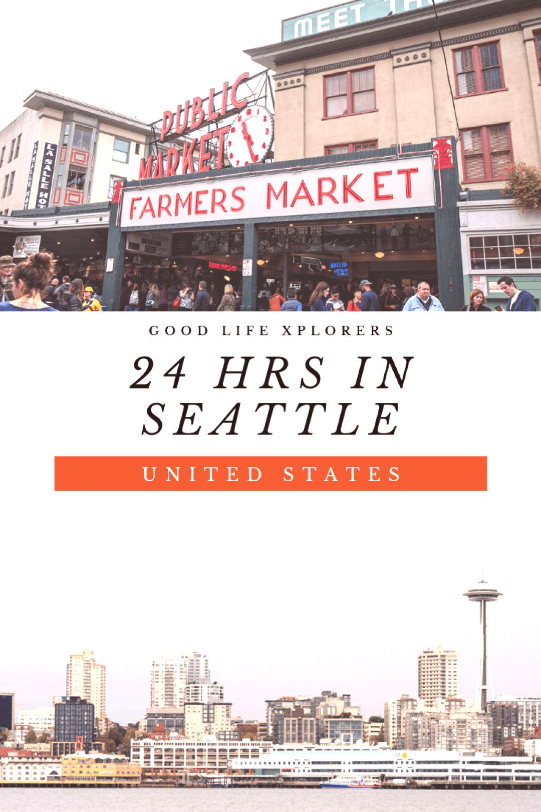 How to spend a day in Seattle | GOOD LIFE XPLORERS If you are visiting the Washington State, then y