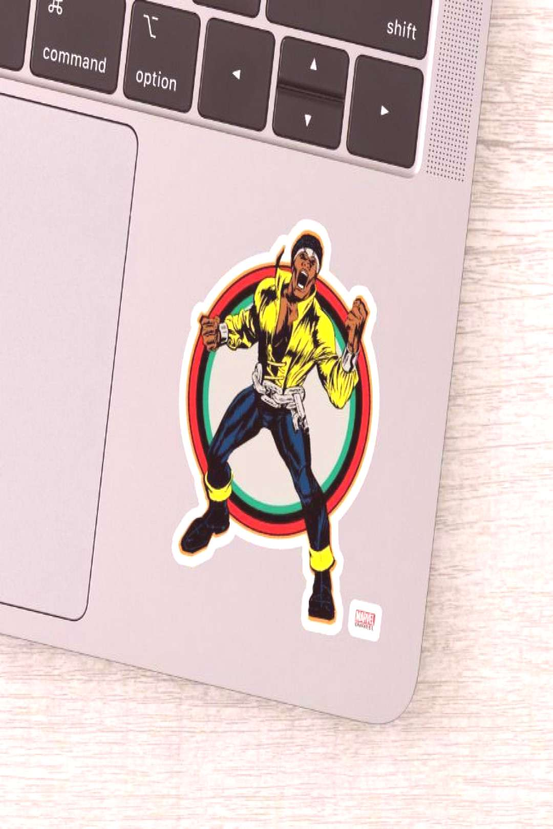 Luke Cage Retro Character Art Sticker ,