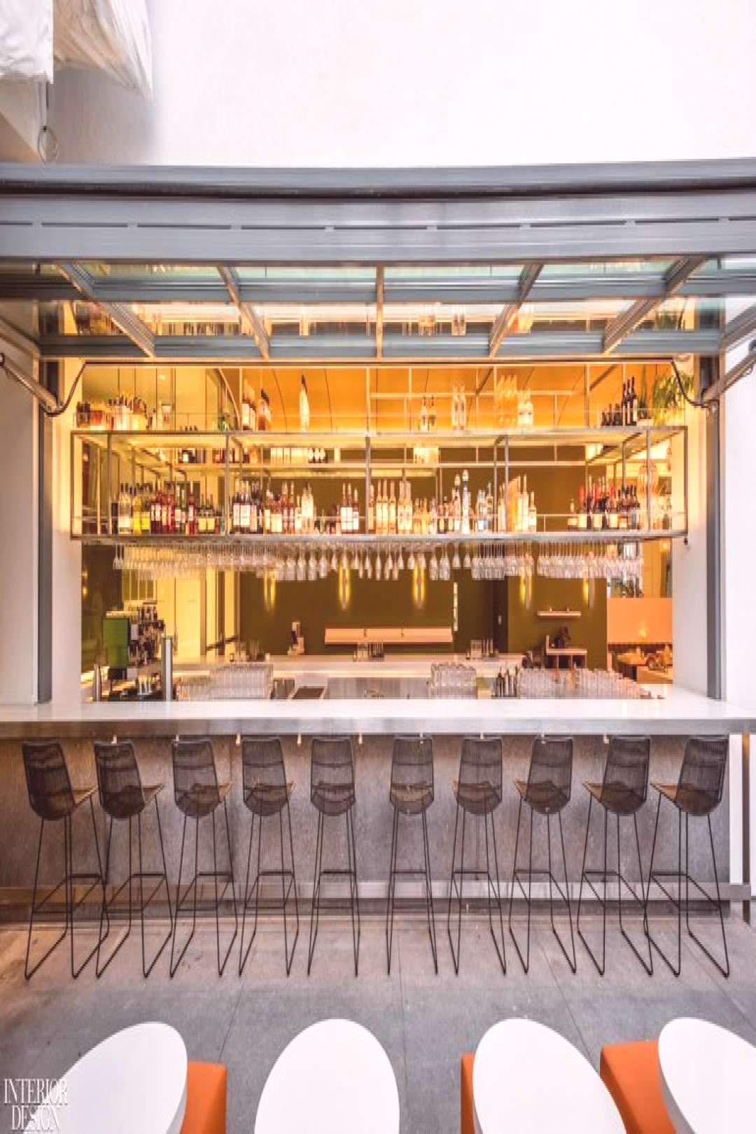 Michael Maltzan, Fettle Design, and Jorge Pardo Create Art at Audrey at the Hammer   - Restaurants