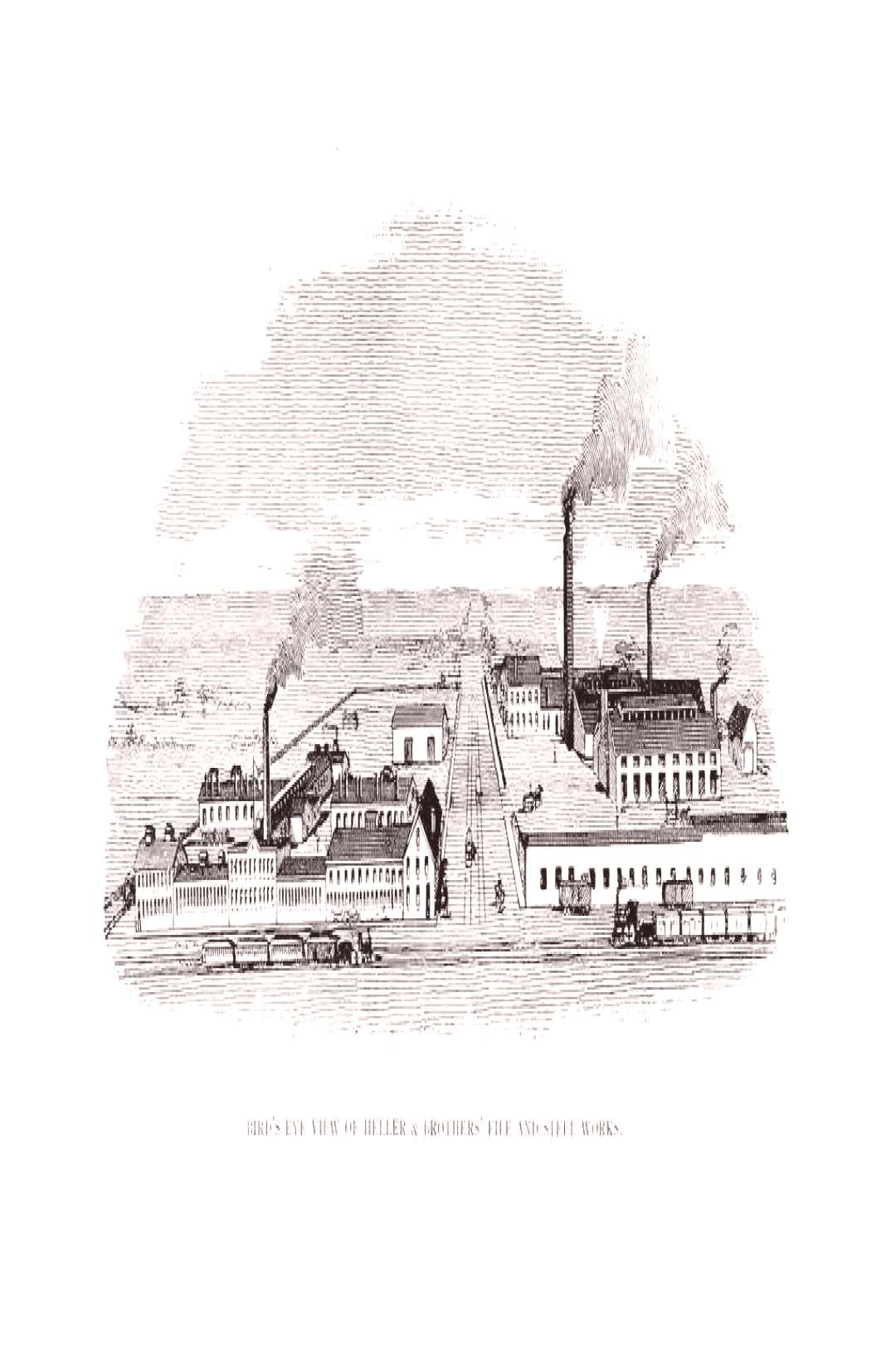 Newark Engraving Illustration Retro Old Image - Stock Photo ,
