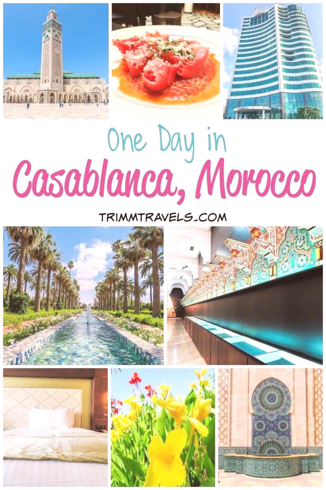 One Day in Casablanca, Morocco Hotel, Highlights amp Historical Eats Are you thinking about visiting
