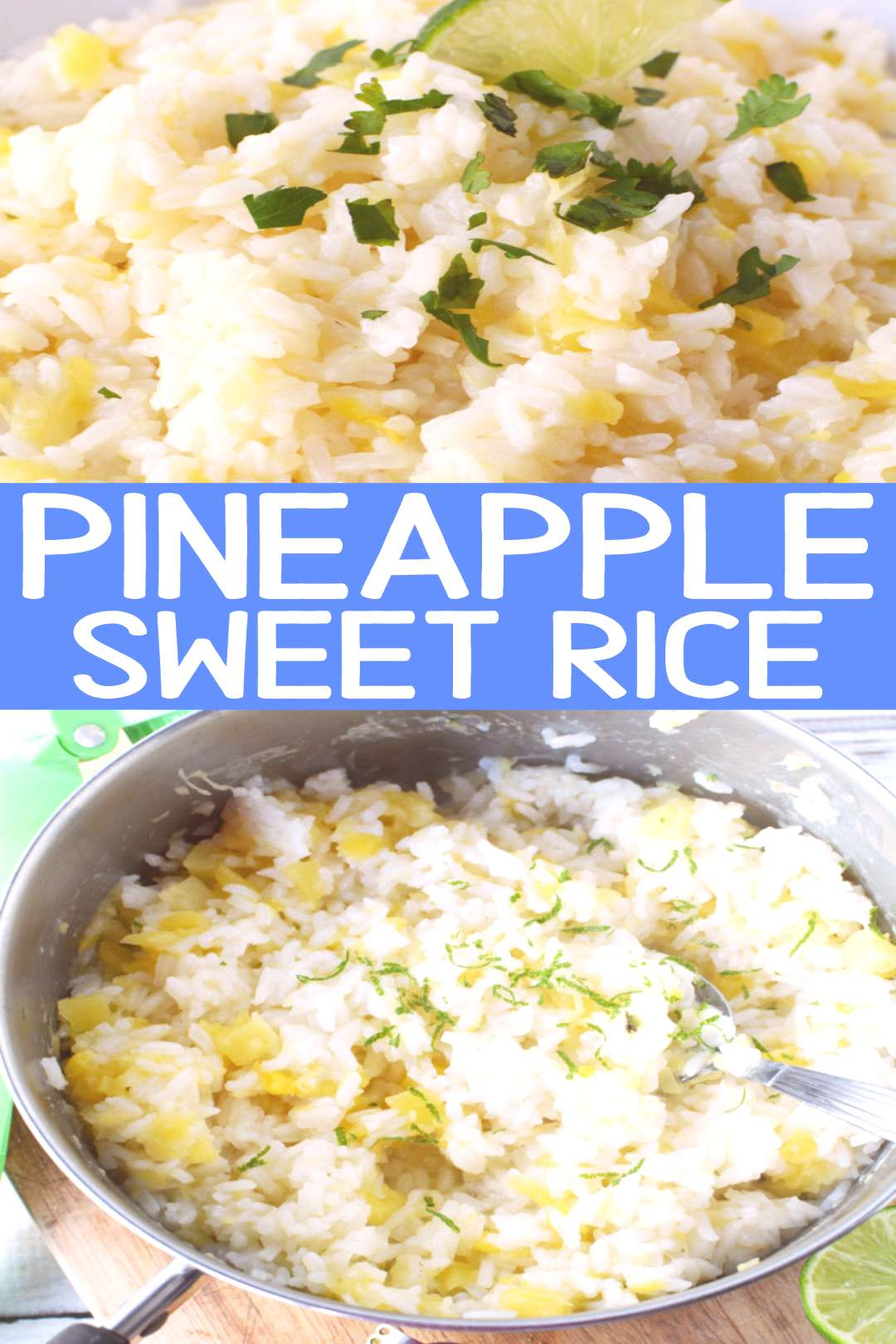 Pineapple Sweet Rice Pineapple sweet rice, a perfectly sweet rice for chicken or eat as a side dish
