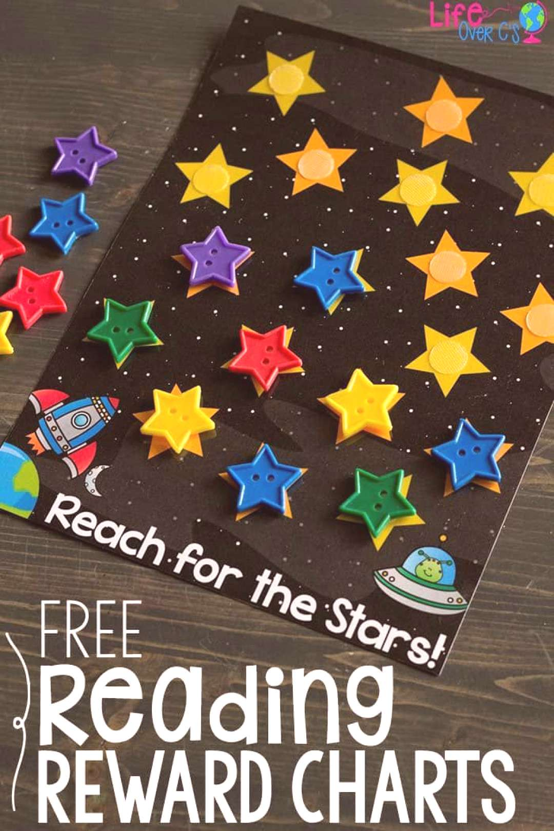 Reading Rewards Chart Child Sleep Reading rewards chart - belohnungstabelle lesen - lecture du tabl