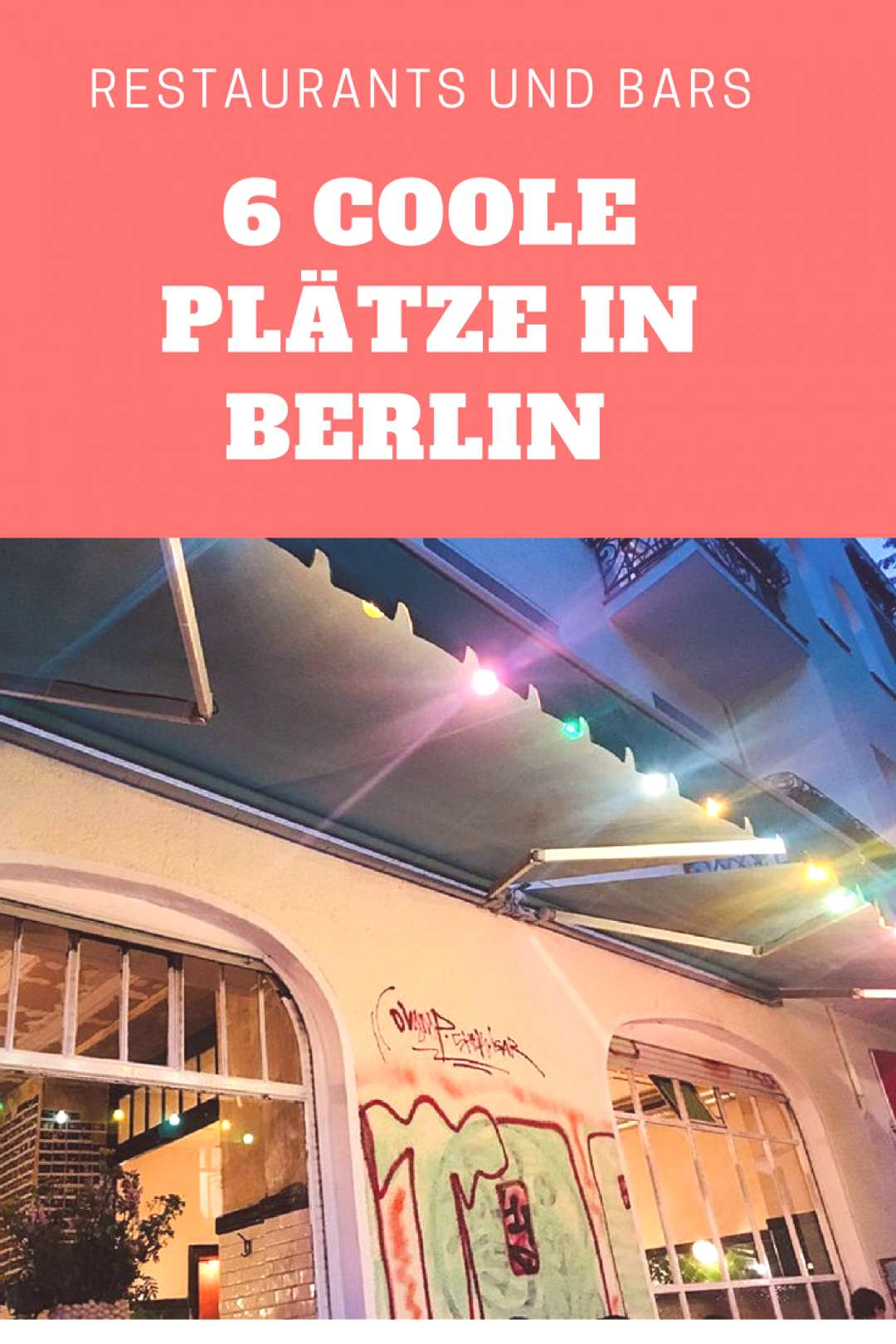 Restaurants, bars: these are the best places in Berlin - BeFifty - -