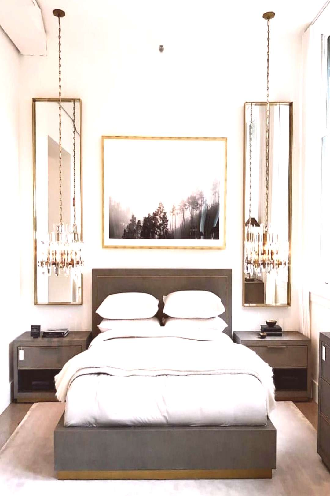 "Restoration Hardware Fan Page on Instagram: ""Repost: @elier__  Chandelier hanging low as nightsta"