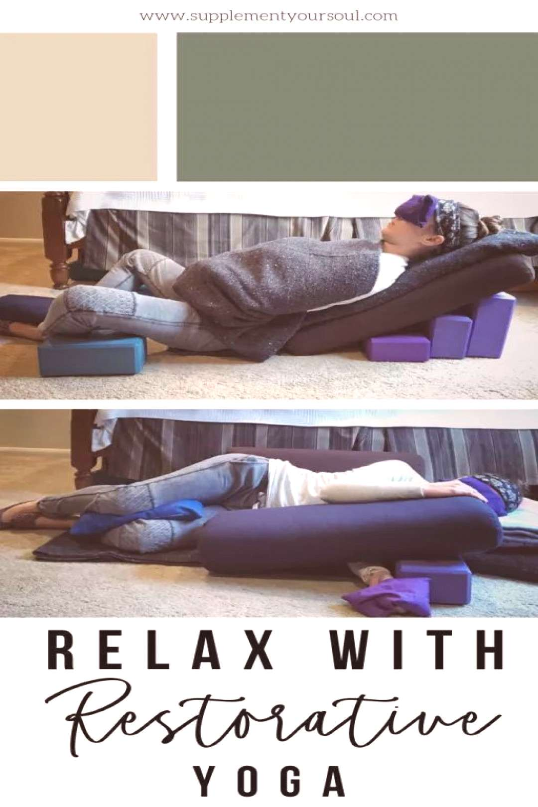 Restorative Yoga is a wonderful way to relax and is a type of yoga almost anyone can do! Read this