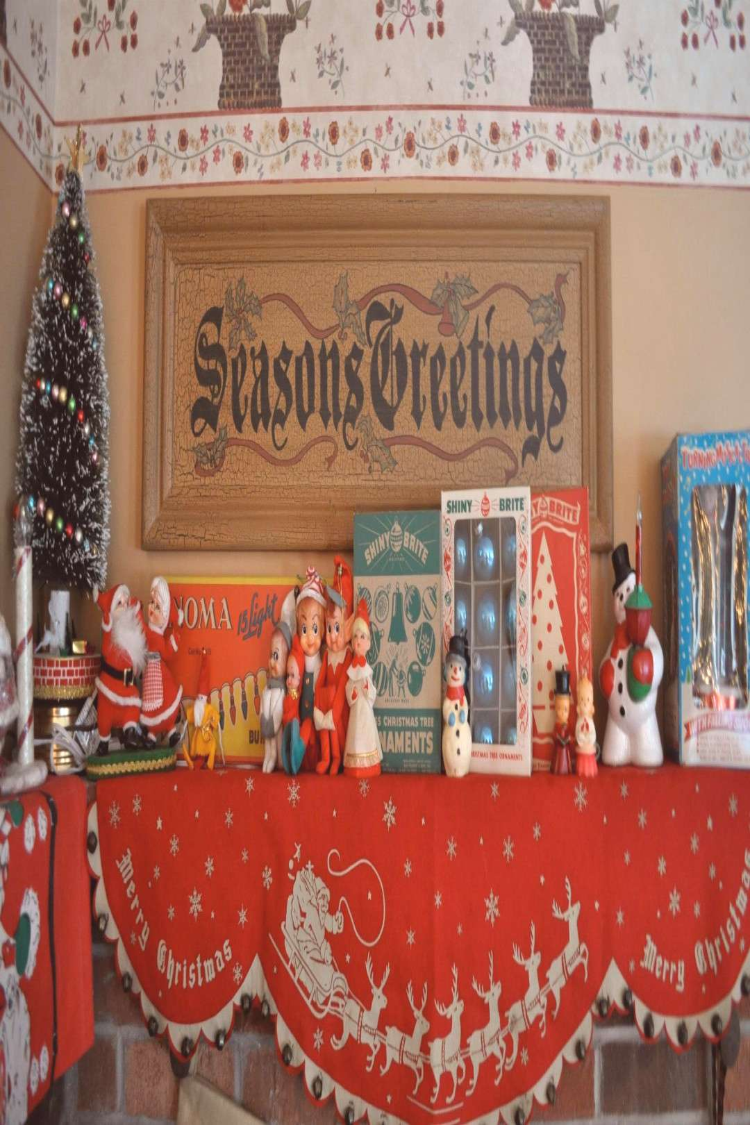 retro christmas mantle -  retro christmas mantle – Yahoo Image Search Results  -