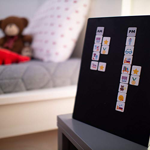 Schedule, Chores and Rewards Chart - for One or Two Kids -