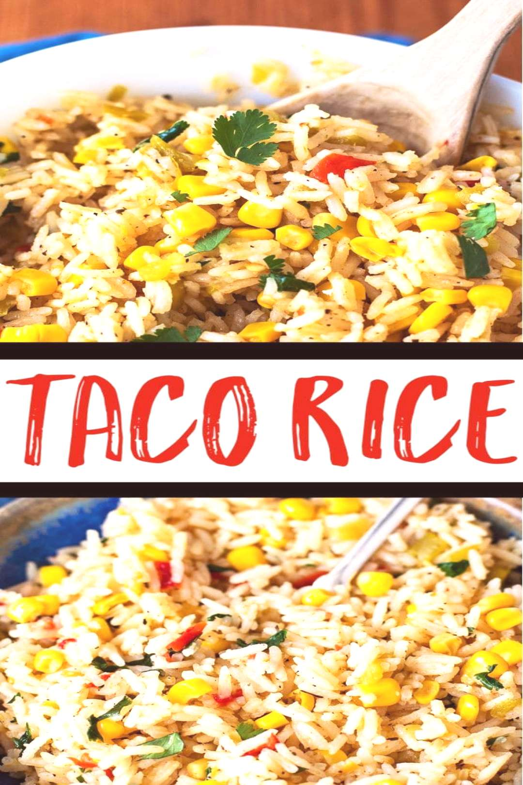 Taco Rice - This flavorful rice is a wonderful side dish, taco filling, or burrito filling. Made wi