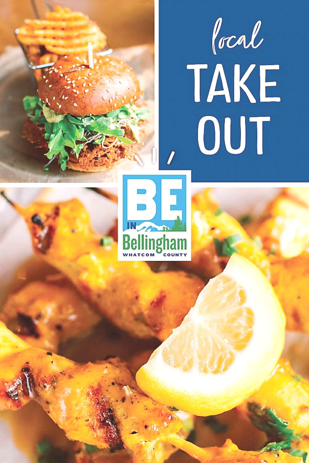 Take Out in Whatcom County Washington Many local restaurants in Whatcom County are getting creative
