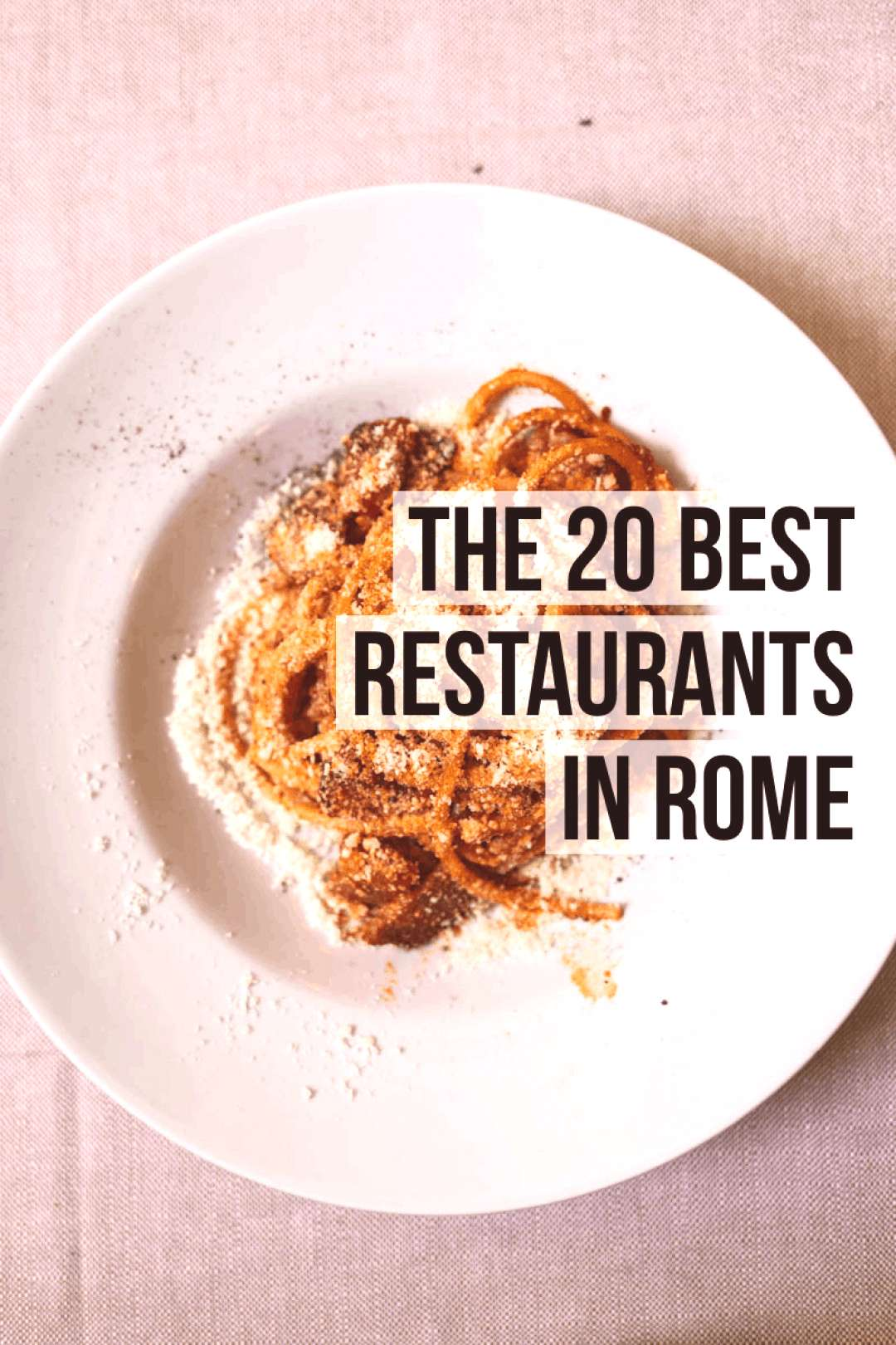 The 20 Best Rome Restaurants (2020)   Female Foodie The 20 Best Rome Restaurants (2020)   Female Fo