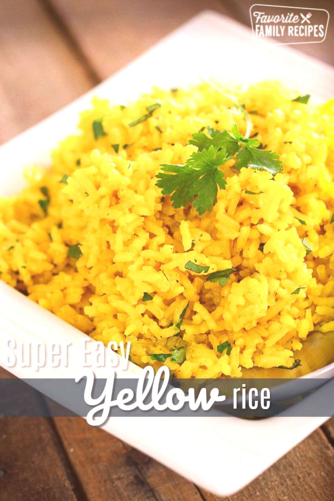 This Easy Yellow Rice side dish complements just about any meal! You can make this on the stove-top