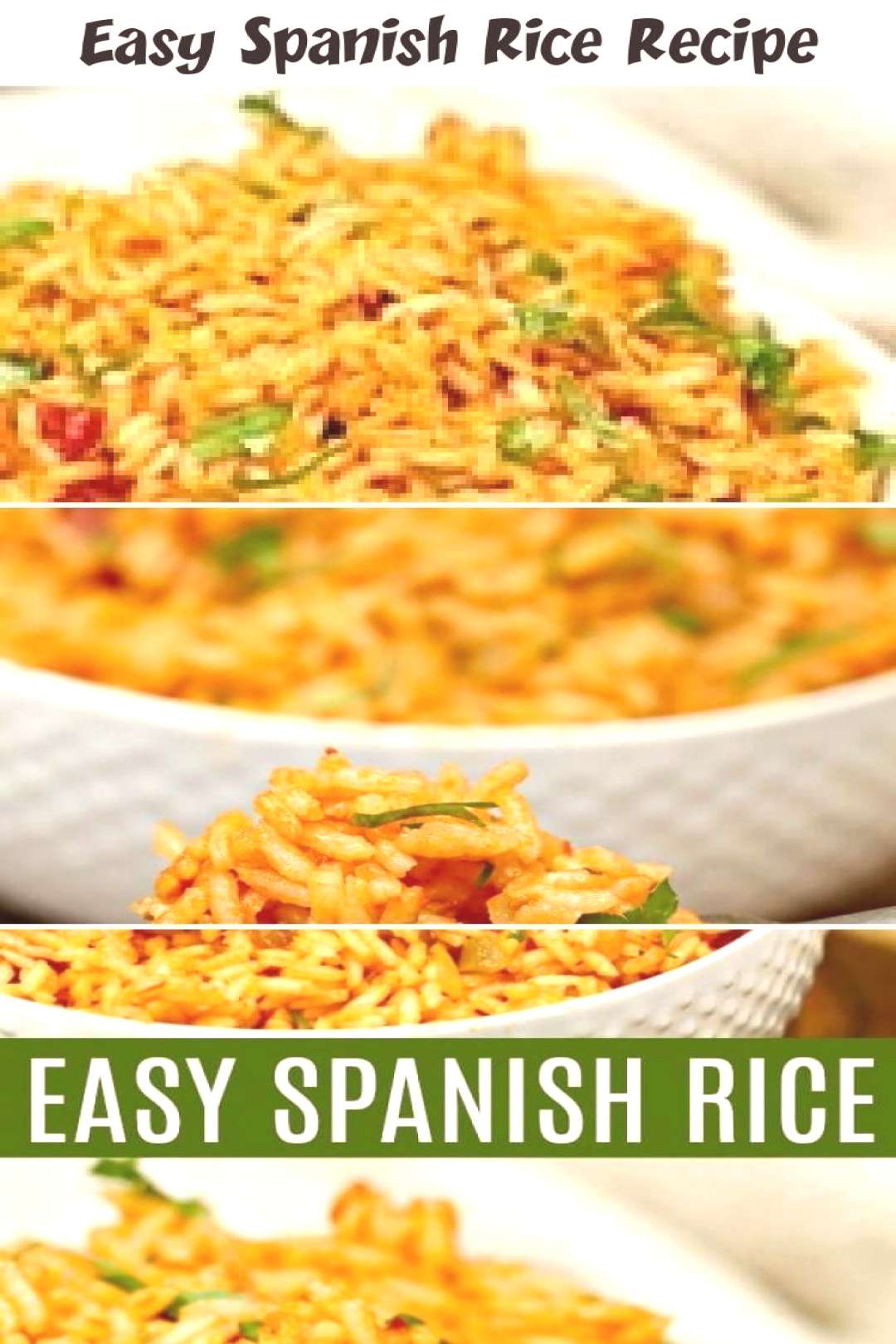 This homemade Spanish rice recipe tastes just like the restaurants ... -...   - ... - Spanish Rice