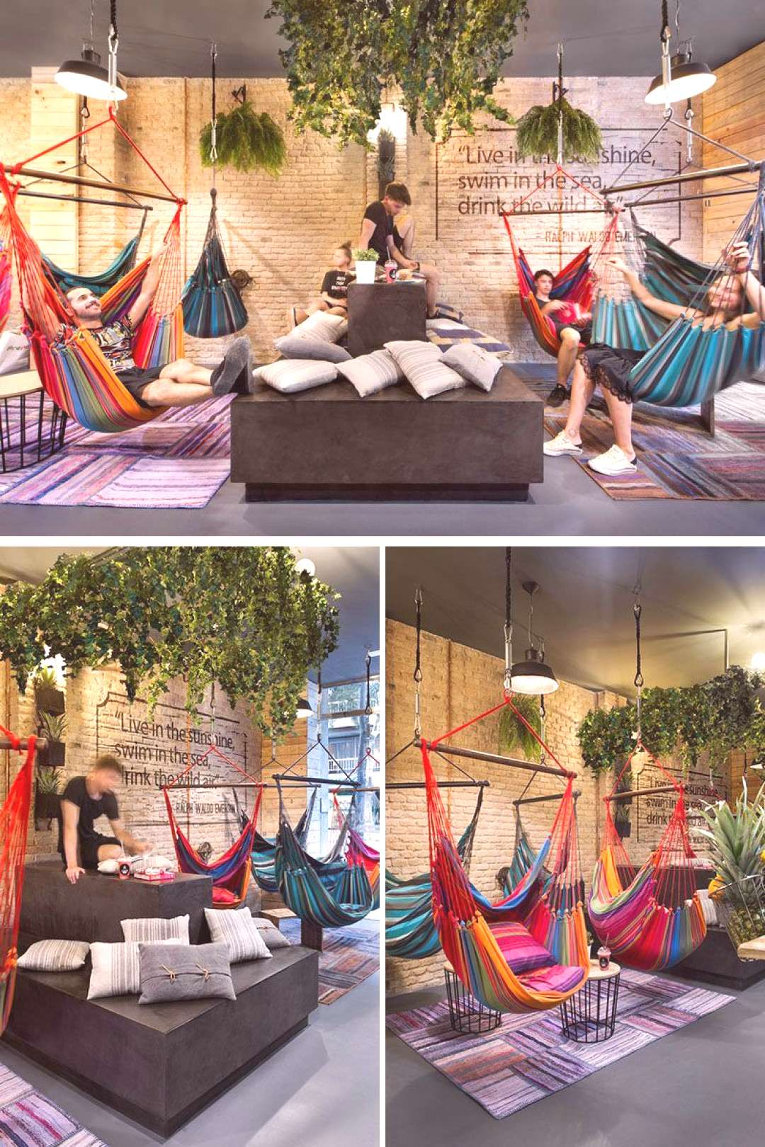 This juice bar takes relaxing to a whole new level with a selection of seating o...   - Restaurants