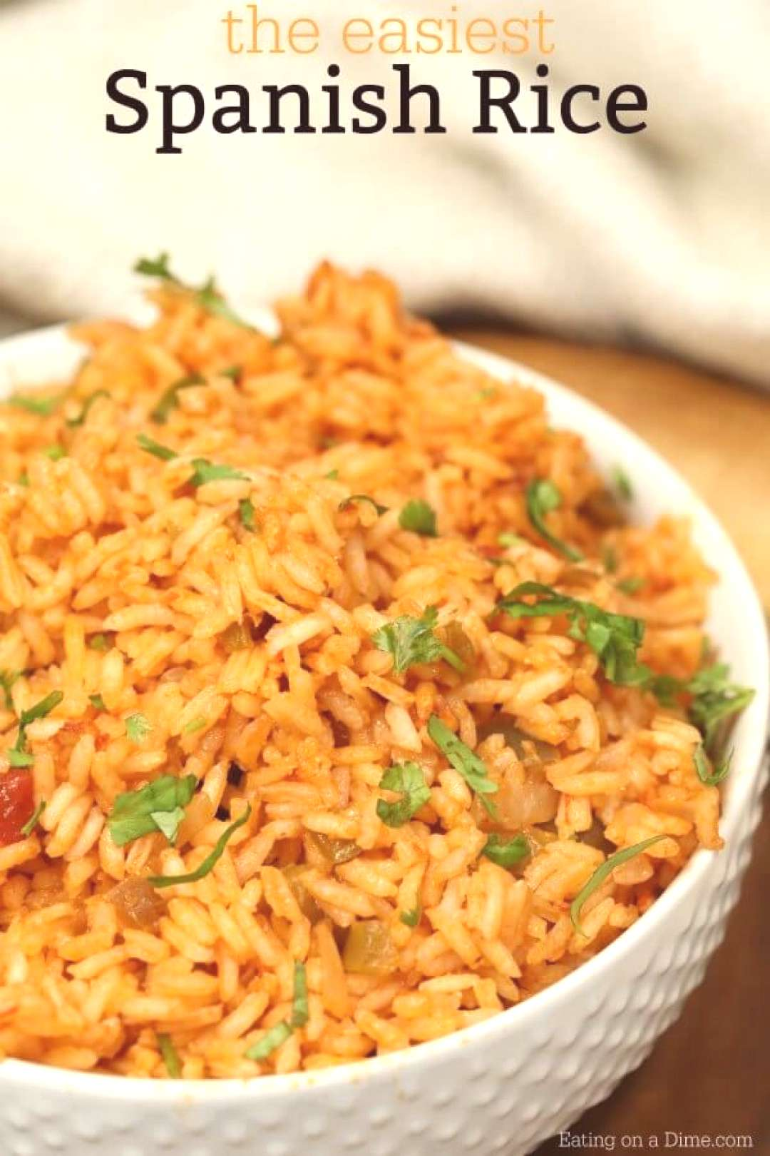 This recipe for homemade spanish rice tastes just like the restaurants.Try this easy Spanish rice r