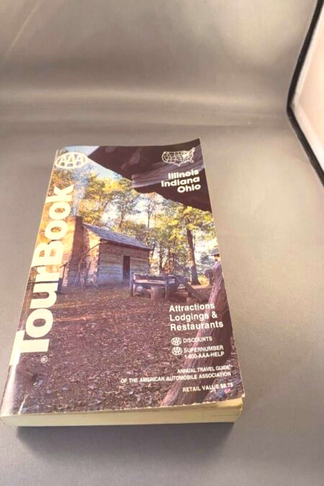 Travel Guide: 1994 AAA Illinois  Indiana Ohio Tour Book Guide Travel Maps Hotels Restaurants 1994 A