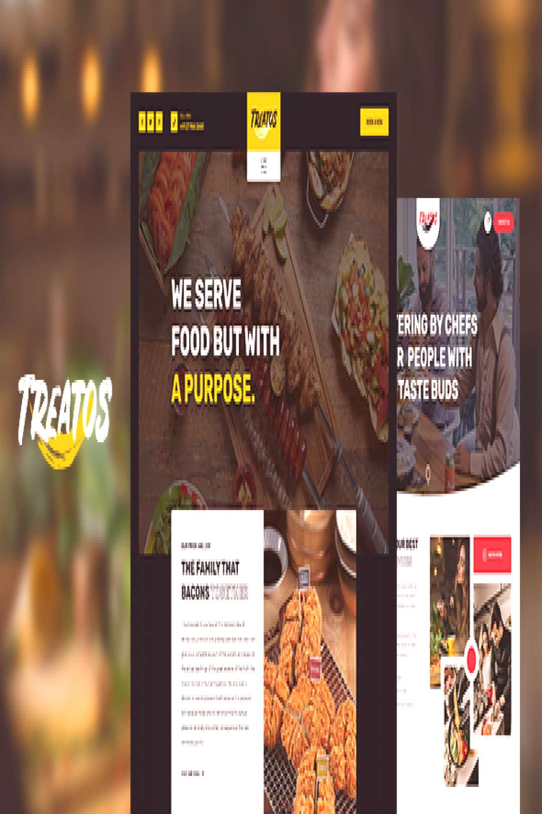 Treatos - Authentic Restaurant Theme
