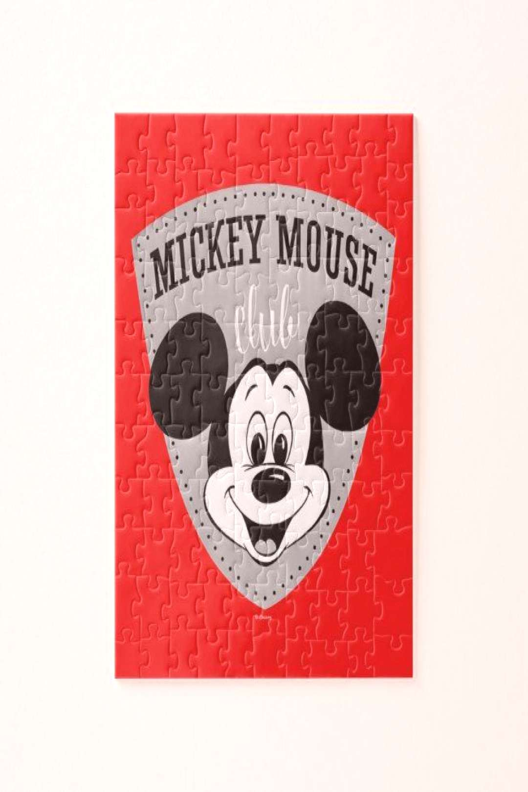 Vintage Mickey Mouse Club Jigsaw Puzzle