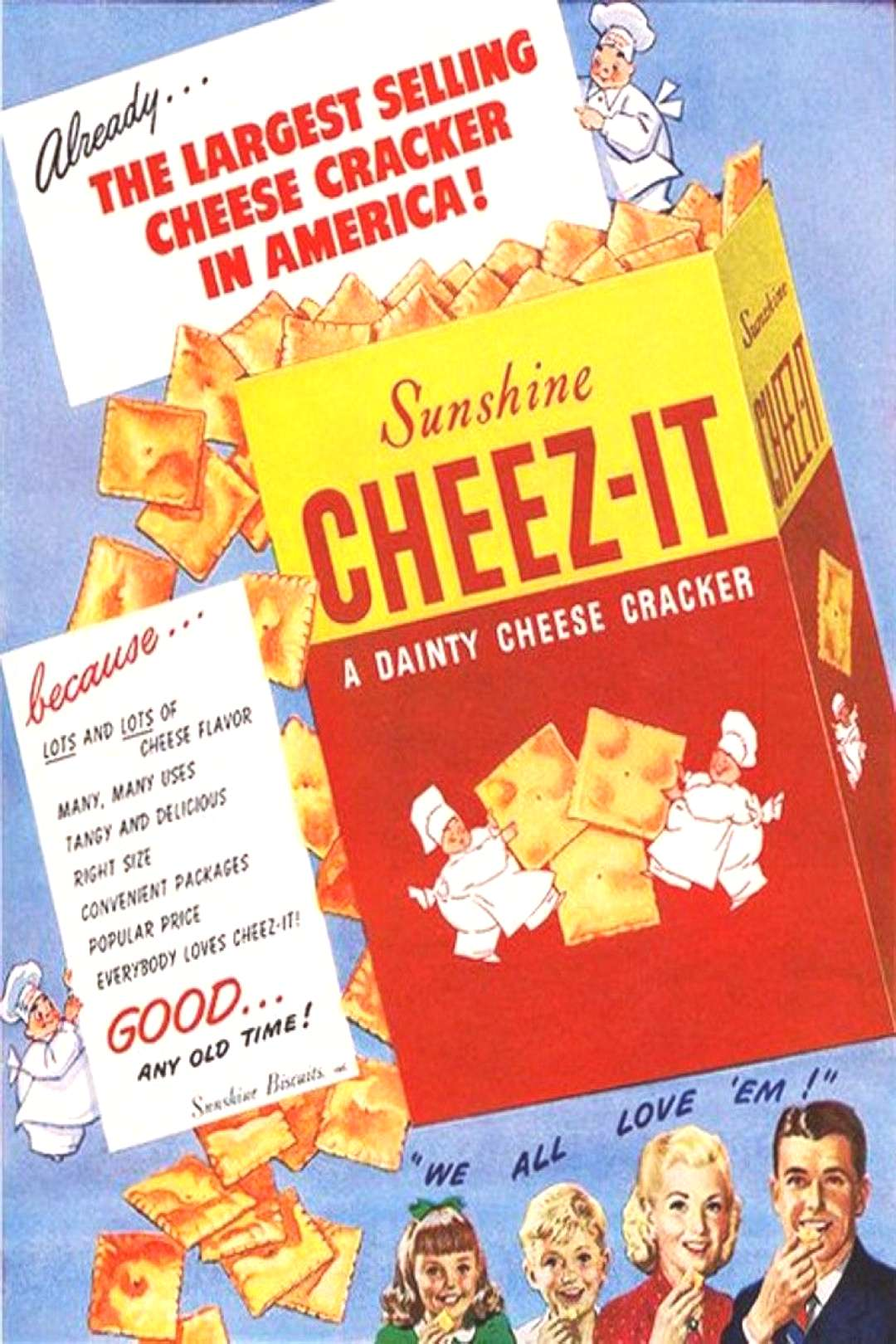 Were Cheez-Its really invented in Dayton? Yes, and here's the story