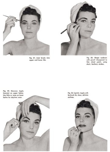 Westmore Beauty Book -- A Complete 1950s Guide to Vintage