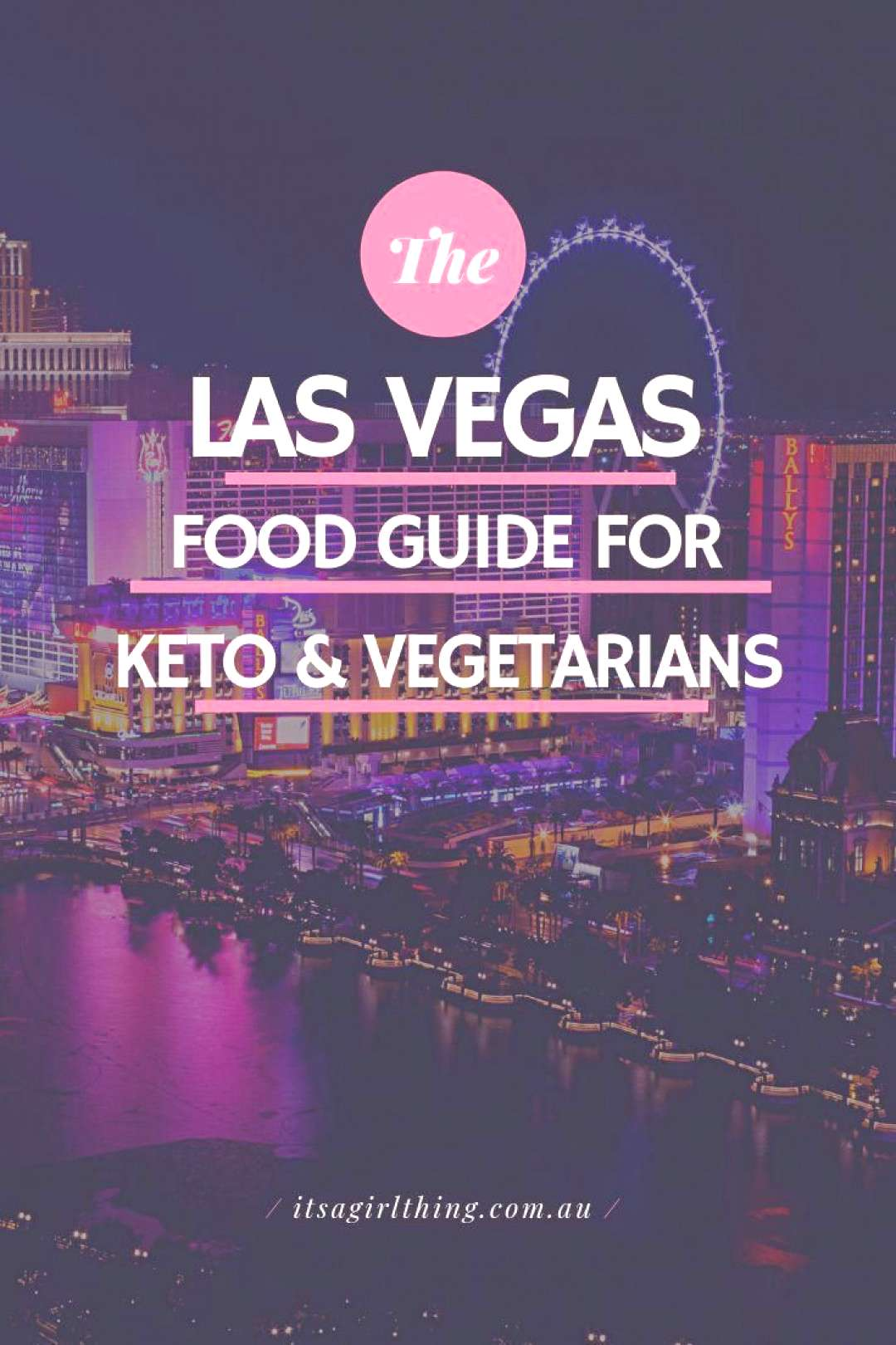 Where should you eat in Las Vegas? What restaurants have vegetarian food or are keto friendly? We'v